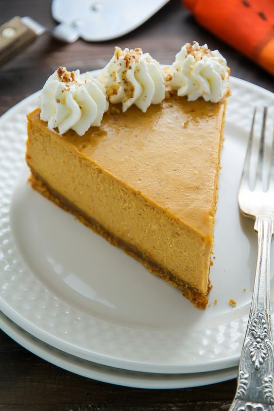 Pumpkin pie cheesecake, Pumpkin pies and Cheesecake on Pinterest