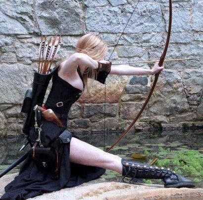 Nude female archer Nude Photos 44