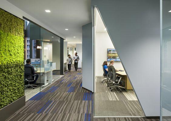 microsoft offices san francisco plant wall angled corner glass carpet tile audentes office san francisco main 2