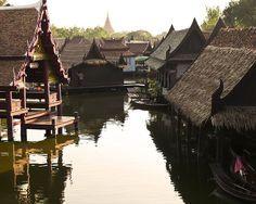 Stilt Houses in Bangkok