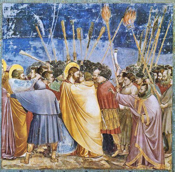 Giotto El beso de judas