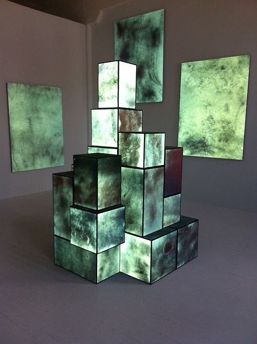 Light sculpture Can enhance or obscure the understanding of form, a pivotal aspect of three-dimensional design. #art #installation #lightbox