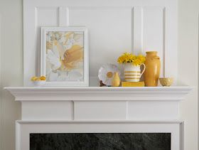 Karin Lidbeck: Decorating Your Mantel - Magazine Stylist Hints