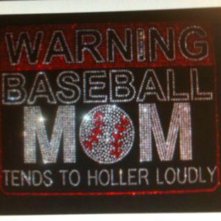 Baseball Mom Bling