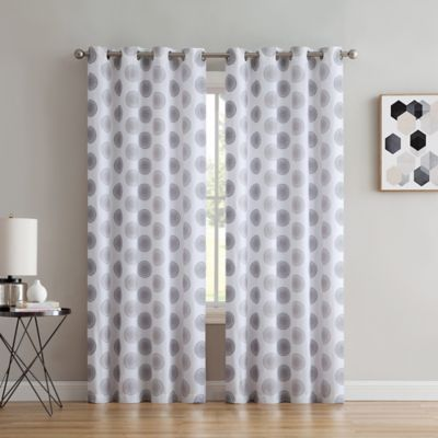 Spiral Grommet Window Curtain Panel Panel Curtains Curtains