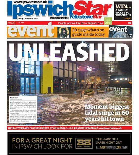 Storms in Ipswich