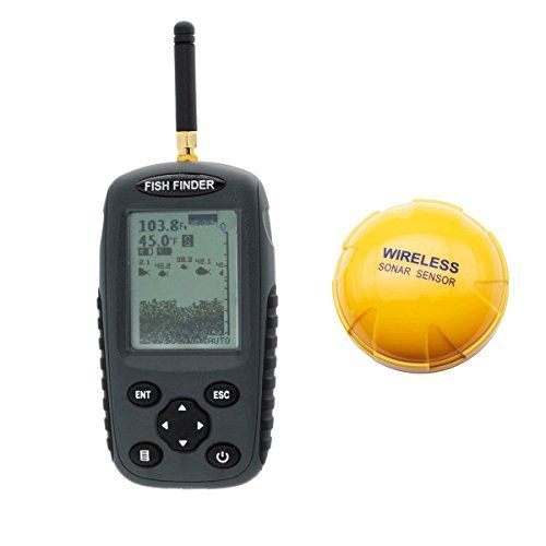 fishing: venterior wireless fish finder portable rechargeable, Fish Finder