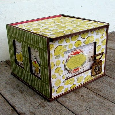 Kaisercraft Recipe Box