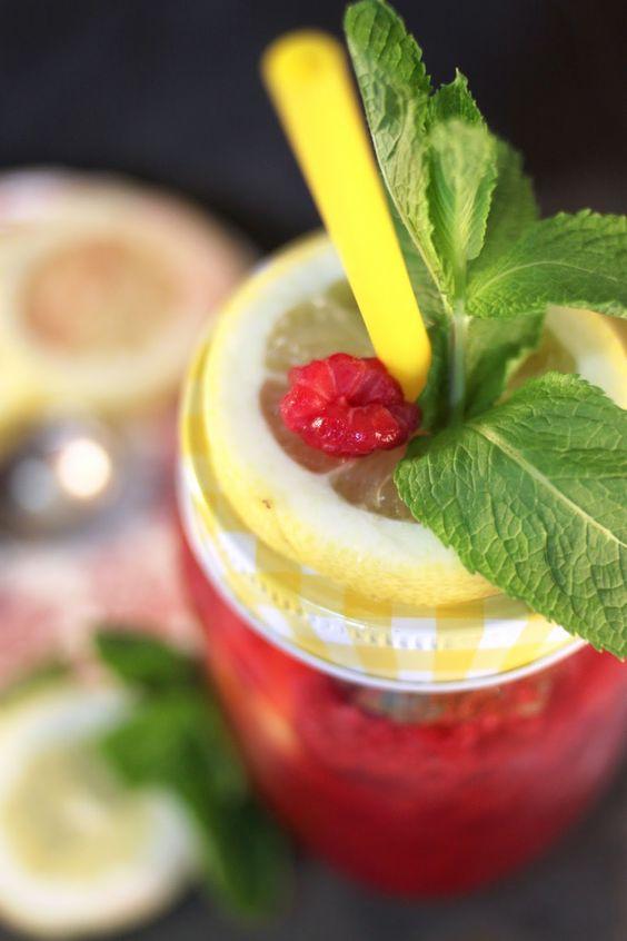 Chloé Délice: Limonade framboise/citron/menthe { Battle Food #20 }