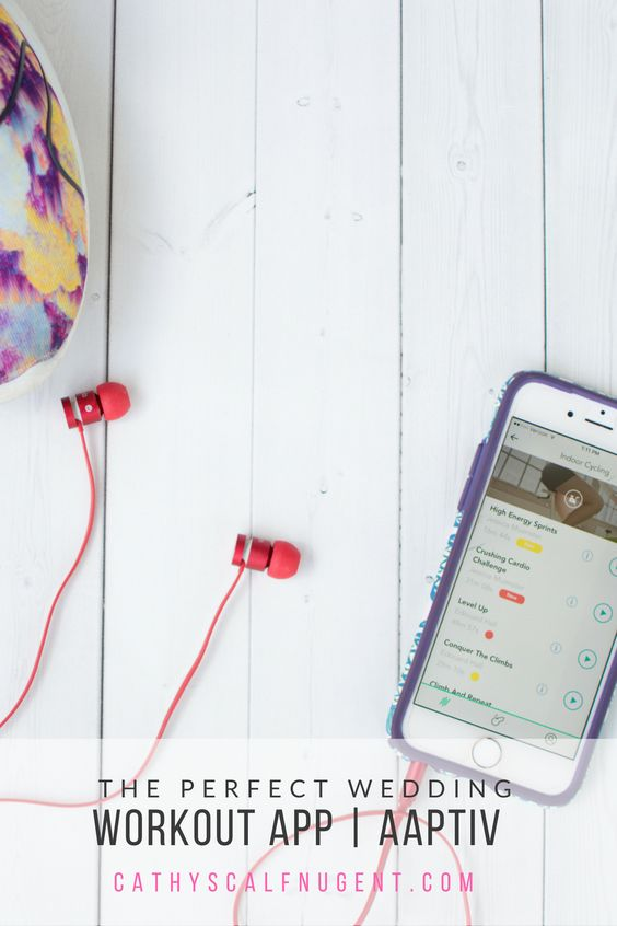 The Perfect Wedding Workout App // Aaptiv // Winter 2018 Favorite Products // Atlanta Lifestyle Blogger
