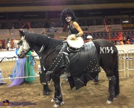 Kiss Horse Costume | Homemade, Thoughts and Halloween