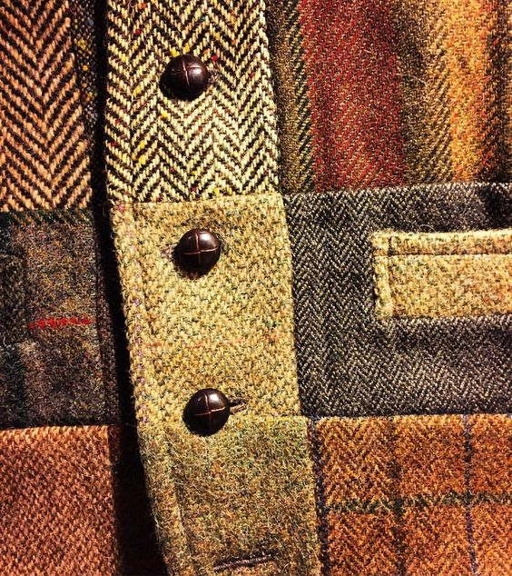 charleshenry: Patchwork tweed. #menstyle #menswear #mensfashion #dandy #dapper #tweed #sartorial #haberdashery #hellskitchen (at FineAndDandyShop.com)