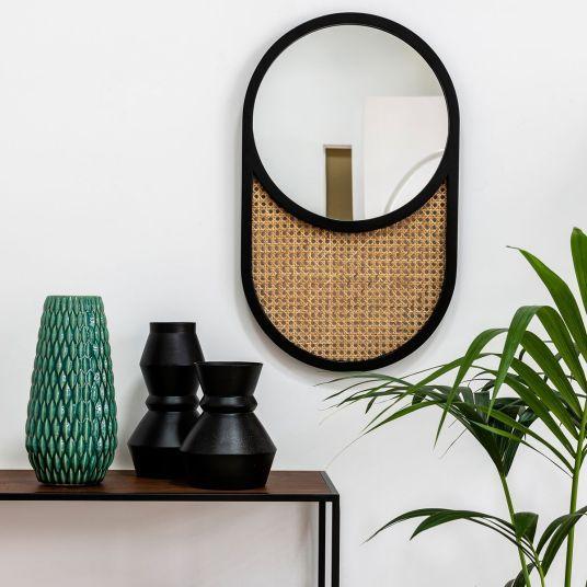 Bon Plan La Deco A Prix Casse Sur La Redoute Et Am Pm Hello Blogzine Cannage La Redoute Interieurs Miroir Mural