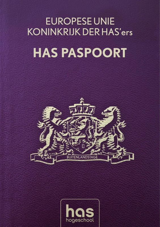 HAS International Paspoort Brochure Traineeship