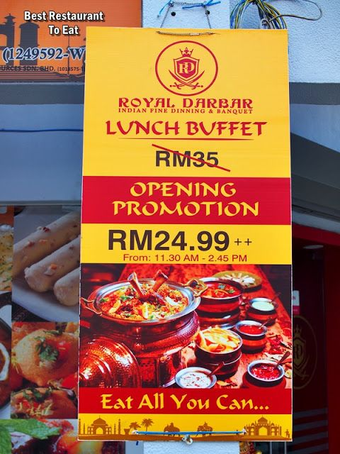 Royal Darbar Restaurant Authentic North Indian Cuisine Wisma Motor Kuala Lumpur Food Blog Malaysian Food Indian Cuisine
