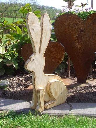 holzwurm - kreatives für haus und garten - holz-tiere   wooden and, Garten und Bauen