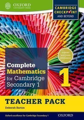 Pdf Download Complete Mathematics For Cambridge Lower Secondary Teacher Pack 1 For Cambridge Checkpoint And Beyond Secondary Teacher Mathematics Math Books
