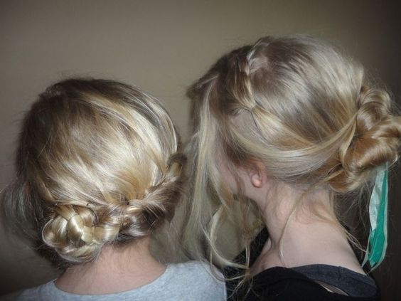 disney's frozen hair styles | ... 23rd (Elsa and Anna's coronation hairstyles from Disney's Frozen