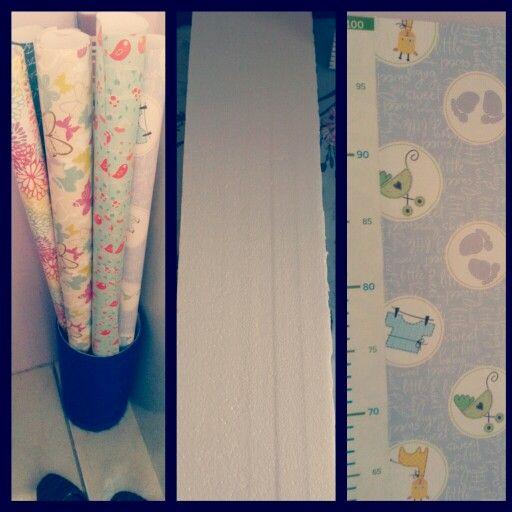 Idéia para acompanhar o crescimento do seu bebê.  ♥♥♥