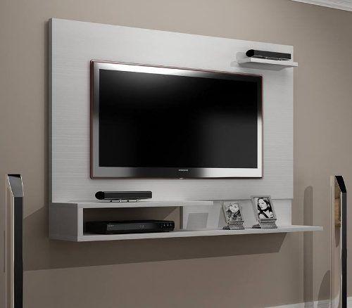 Panel para lcd led rack modular mueble organizador - Como hacer un mueble para tv ...