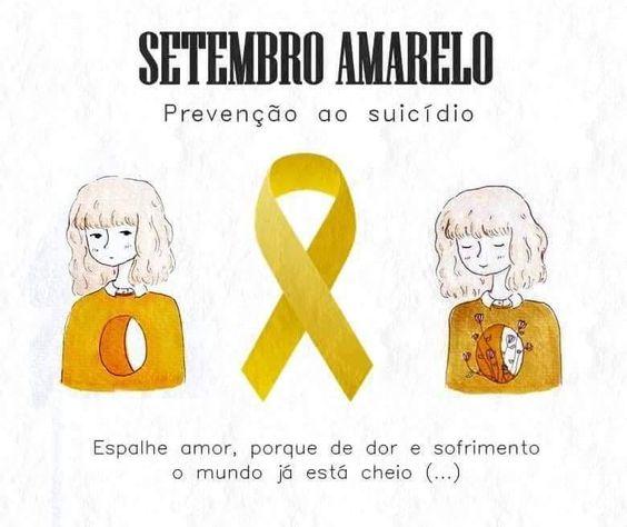 Setembro amarelo: