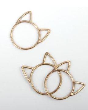 kitty rings.. i'll take 10: