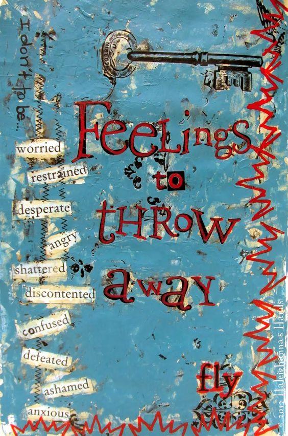 Haleighanna's Hands: Art Journal Thursday: Fly