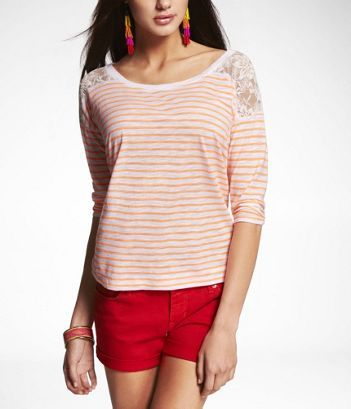 neon+stripe+lace=awesome