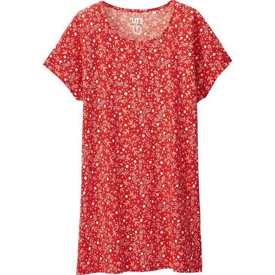 Women's Haibara Short Sleeve Graphic Tunic | UNIQLO