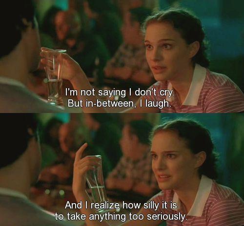 Best Movie Quotes Natalie Portman In Garden State One Of My