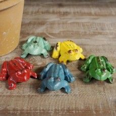 Cast Iron Frog | Frog Figurines