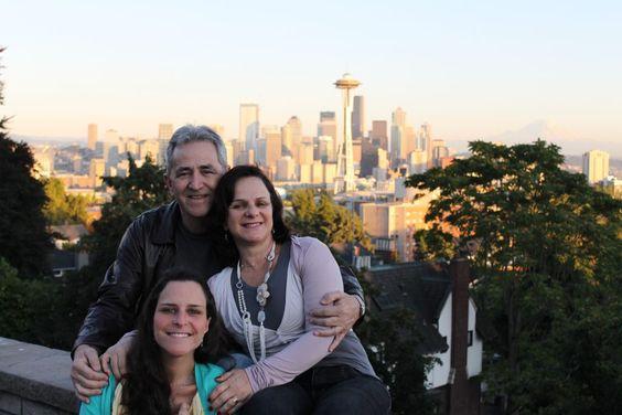 Locações de Grey's Anatomy em Seattle - este é o Kerry Park.