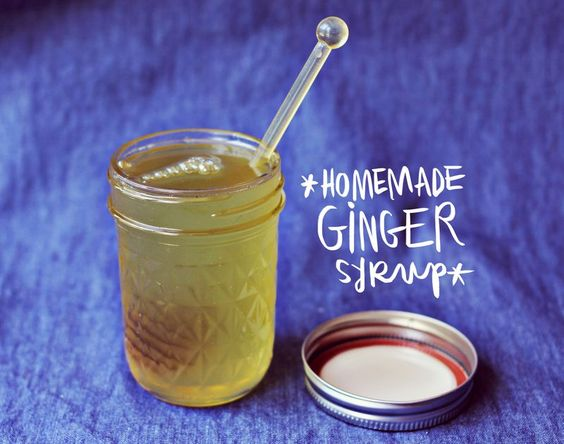 Homemade ginger syrup + candied ginger, I will make this by the ...