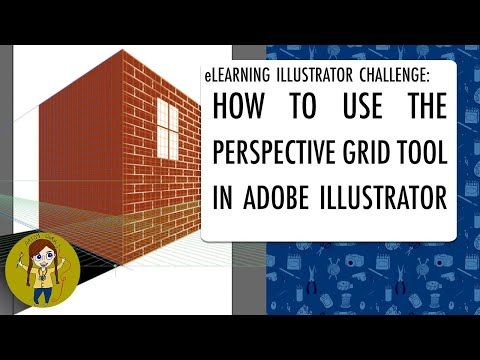 How To Use The Perspective Grid In Adobe Illustrator Elearning Illustrator Challenge Youtube In 2020 Illustration Grid Tool Photoshop Tutorial