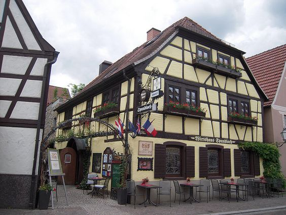Traditional german house beautiful houses pinterest for German cottage house plans