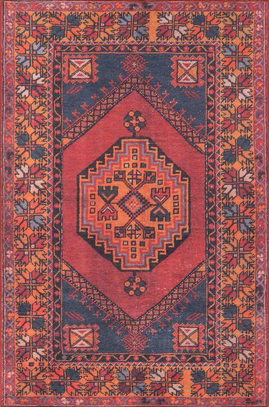Varian Power Loom Red Rug Rugs On Carpet Boho Rug Red Rugs