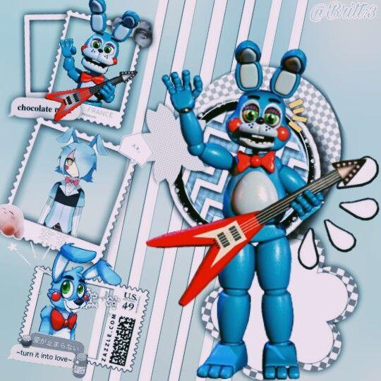 Freetoedit Toybonnie Toy Bonnie Fivenightsatfreddys Fivenigthsatfreddys2 Ucn Fnaf Wallpapers Anime Fnaf Fnaf