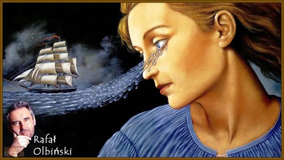Rafal Olbinski ~ Surrealist painter | Tutt'Art@ | Pittura * Scultura * Poesia * Musica |