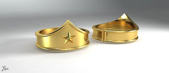 Tiara ring, Tiaras and Women's rings on Pinterest