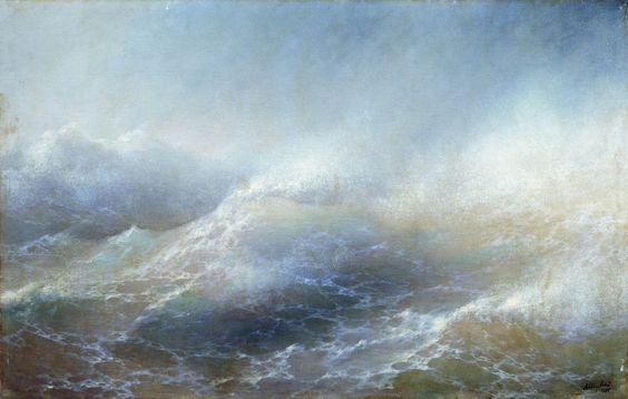 Sea view, 1895 by Ivan Aivazovsky