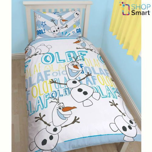 Disney Frozen Olaf Einzelbett Bettdecke Set Abdeckung Bettbezug