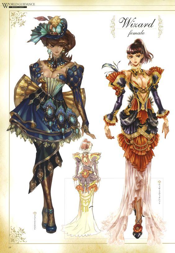 IMC Games, Granado Espada, Wizard (Granado Espada), Character ...