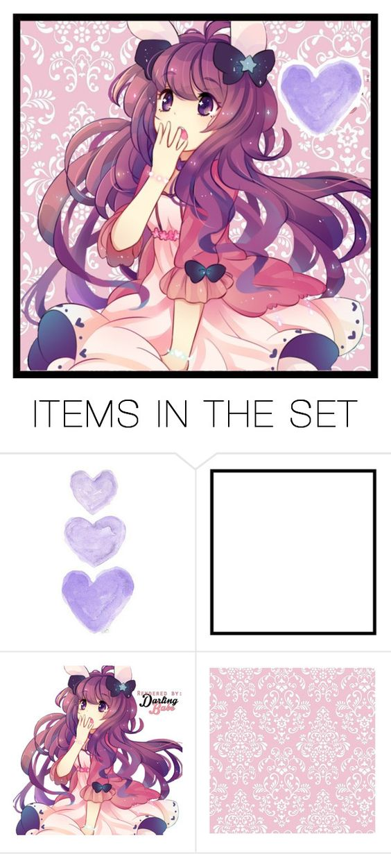 """""""Guys, thank you so much for 400+ followers!!~"""" by ryohoshigaki ❤ liked on Polyvore featuring art"""