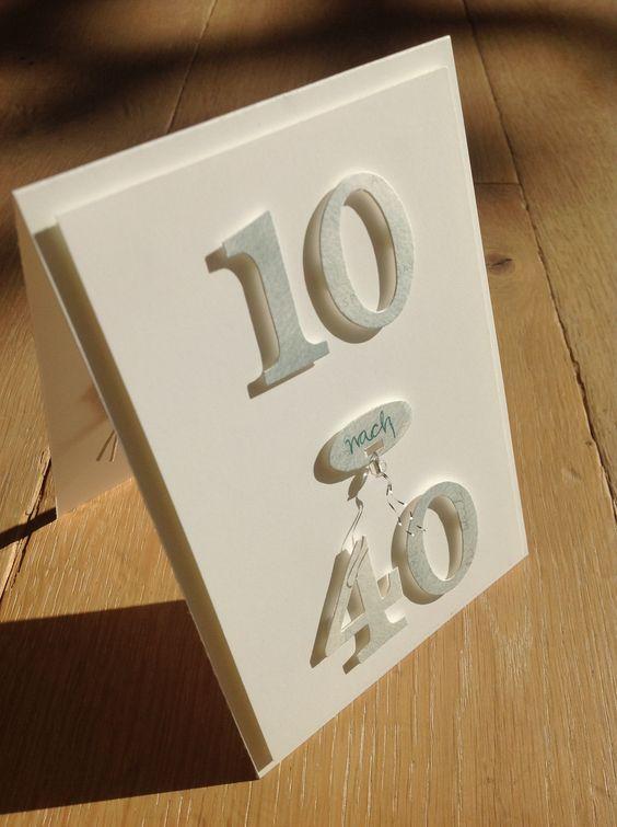 50. Geburtstag, Stampin'Up, Zahlenkarte, Geburtstagskarte, Alexandra Renke,