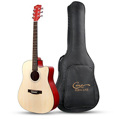 Hricane Beginner Acoustic Guitar 41 Full Size Guitar Gu Https Www Amazon Com Dp B072ts3w67 Ref Cm Sw R Pi Dp Best Acoustic Guitar Acoustic Guitar Guitar