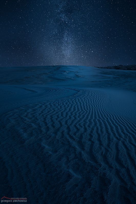 Desert Night En Gÿ Gÿ Milky Way Stretching Above Sand Dunes At Forvie Nati Landscape Photography Milky Way World Pictures