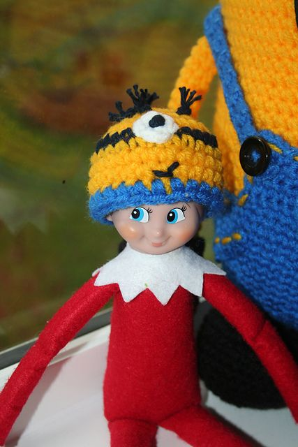 Ravelry: Elf on the shelf minion hat pattern pattern by ...
