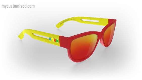 I've just created my own custom sunglasses. You can too by visiting http://mycustomised.com