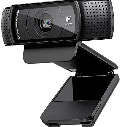 Logitech C920 HD Pro - Webcam Full HD (1080pm, sensor de 15 Mp), negro Logitech