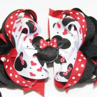 "This is one of many cute bows from this site: sweet baby k's ""bow"" tique....you can also see a lot more from the business facebook website that are even cuter, but I couldn't pin from there."